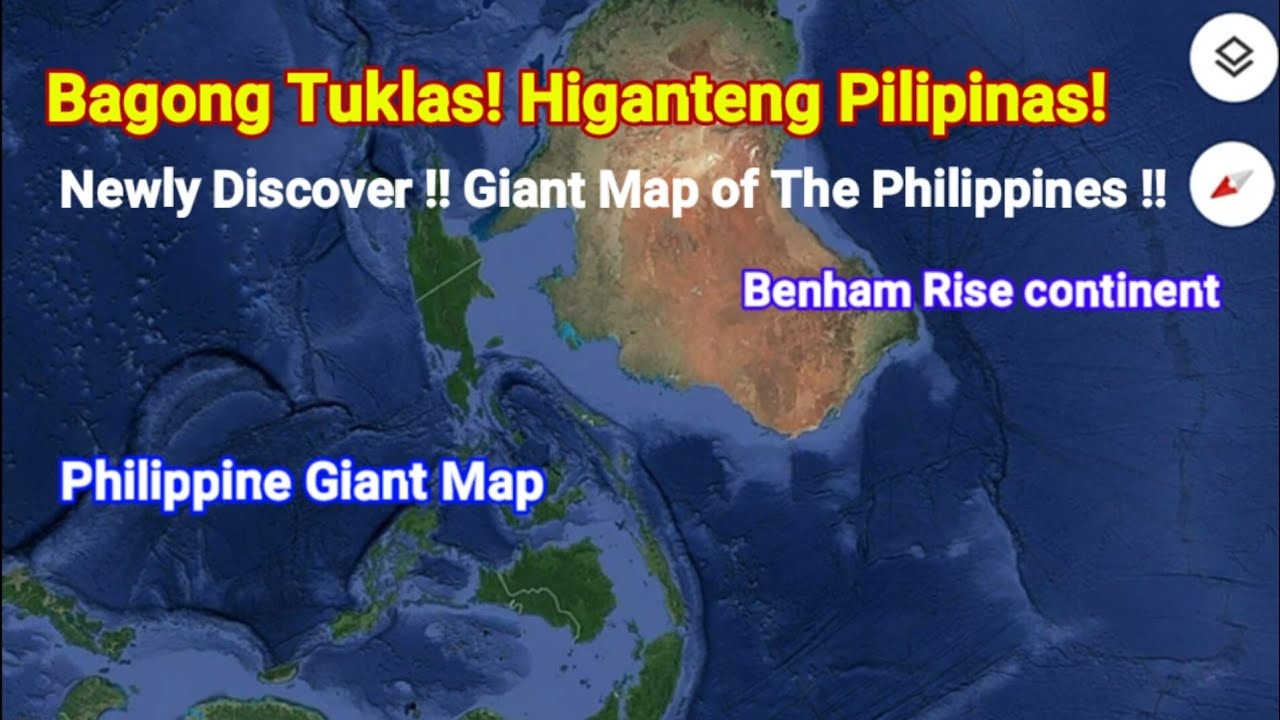Giant Philippine Map\' Discover in Google Map