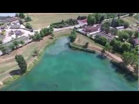 Lago pesca sportiva campalto vista aerea youtube for Lago padova