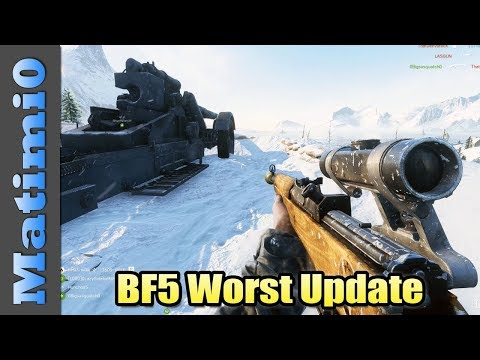 DICE Why? - Battlefield 5 Worst Update thumbnail