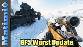 DICE Why? - Battlefield 5 Worst Update