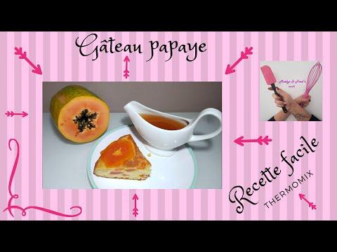 gÂteau-papaye-recette-facile-thermomix-exotique