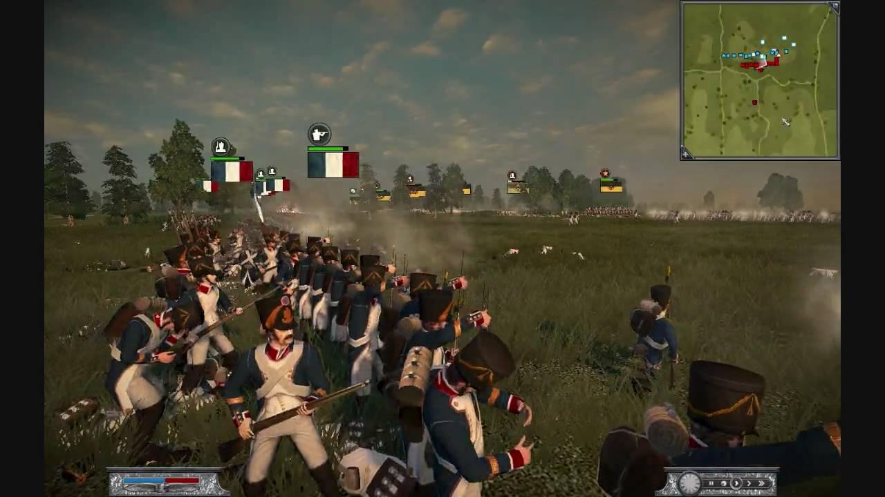 Napoleon Total War Online Battle #003 France vs Austria