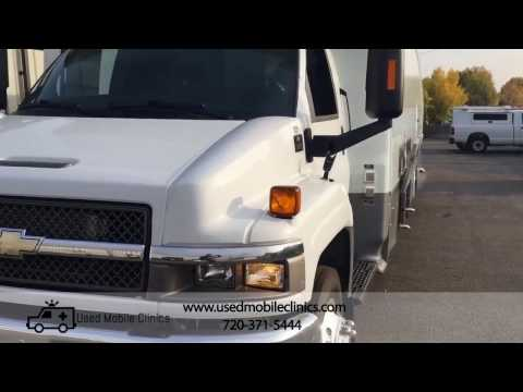 2009 Mobile Medical Health Clinic Van RV For Sale
