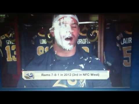 "Rams Chris Long Gets ""Smack-Cammed"" by Cortland Finnegan"