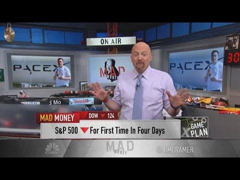 Jim Cramer on Tesla joining S&P 500: 'I bet Tesla has more upside'