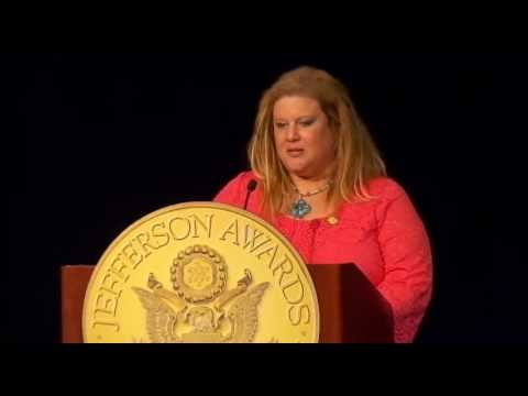 Heather Snyder, Highmark at 2013 National Jefferson Awards in Washington, DC