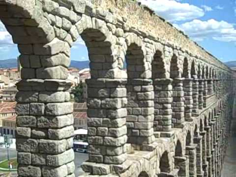 The Great Roman Aqueduct of Segovia