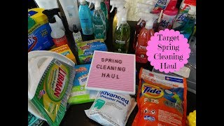 Target Spring Cleaning Haul & How I Plan For Spring Cleaning