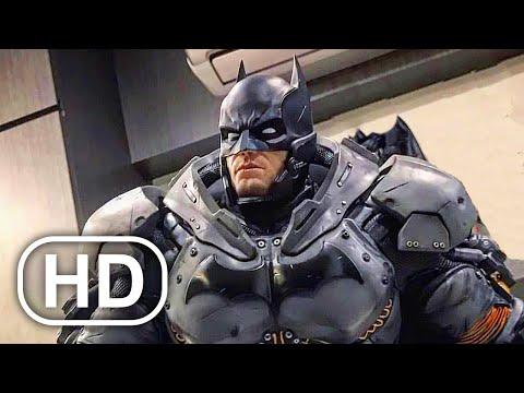 Batman Full Movie Cinematic (2021) All Batman Arkham Cinematics 4K ULTRA HD Superhero Action