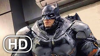 Batman Full Movie Cinematic (2021) All Batman Arkham Cinematics 4K ULTRA HD Superhero Action