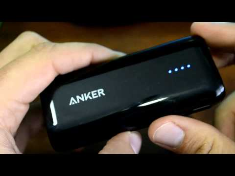 Anker Astro E1 5200mAh Ultra Compact Portable Charger External Battery Power Bank