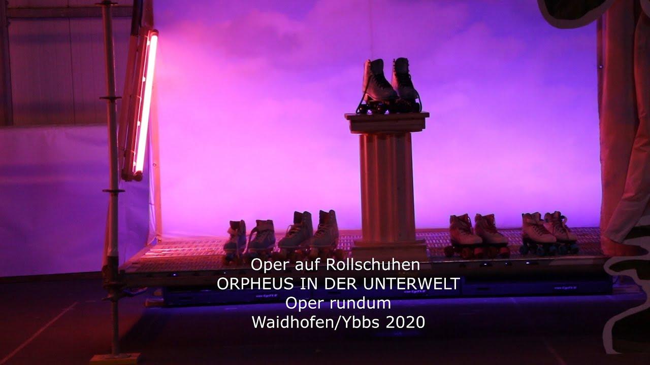 Nach der Premiere Orpheus in der Unterwelt in Waidhofen/Ybbs 2020 ...