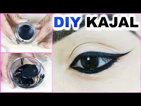 DIY Kajal At Home - Smudge Free, Long Lasting, Blackest Black, 100% Natural | Anaysa