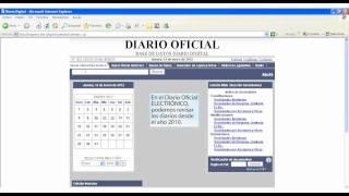 Cómo ingresar al Diario Oficial Electrónico desde la Biblioteca Pública