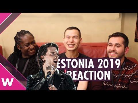 "Estonia Eurovision 2019 | Victor Crone ""Storm"" (Reaction)"