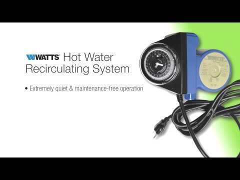Watts Hot Water Recirculating System for Pros - The Home Depot