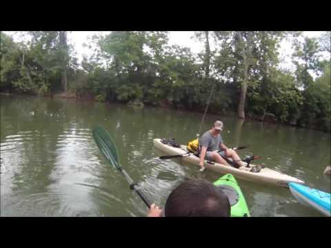 Kayak Fishing Elkhorn Creek 5-28-16