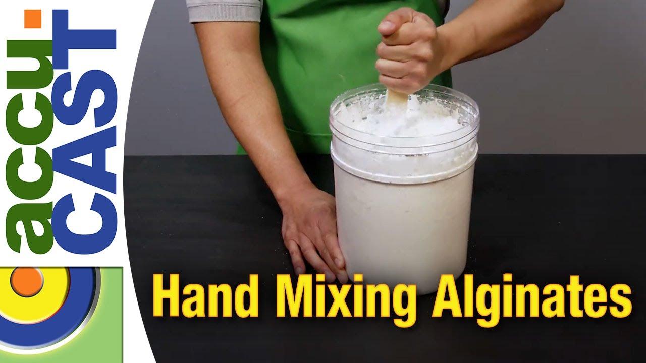 How To Mix Accu-Cast Alginate By Hand