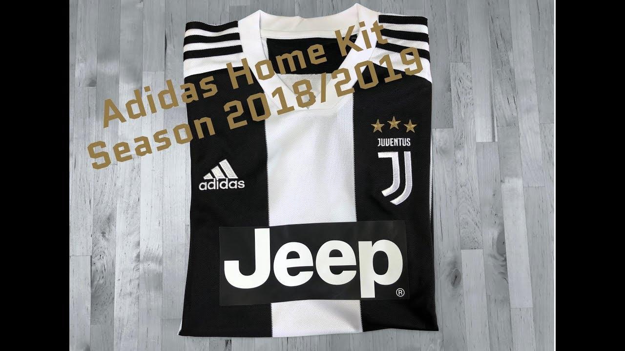 quality design cdb86 31e0a Adidas Juventus Turin Replica Jersey 'Home Kit Season 2018/19' | UNPACKING  | sports fashion | 4K