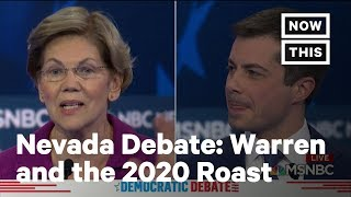 Elizabeth Warren Roasts Everyone at the Nevada Democratic Debate | NowThis