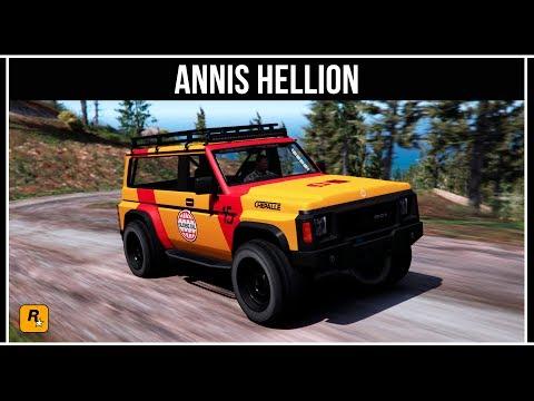 GTA Online: Обзор нового внедорожника Annis Hellion