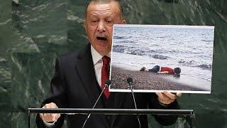 BM'de konuşan Erdoğan'dan İsrail çıkışı