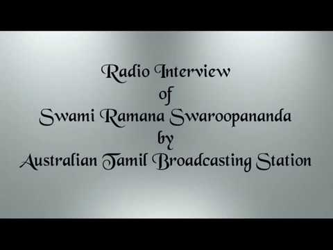 Radio Interview - Australian Tamil Broadcasting station