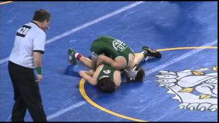 Wrestling Championship pre-quarters, 106lbs: Pat Glory beats Joe Manchio