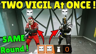 Playing With *TWO Vigils* At The SAME Round In a Ranked Match - Rainbow Six Siege