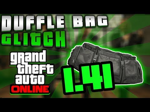 HOW TO OBTAIN THE DUFFEL BAG IN GTA ONLINE AFTER PATCH 1.41