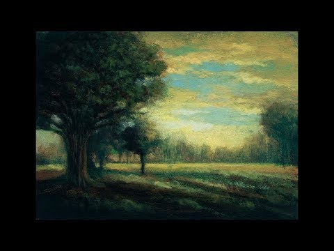 Afternoon Reverie 5×7  Tonalist Landscape Oil Painting Demonstration