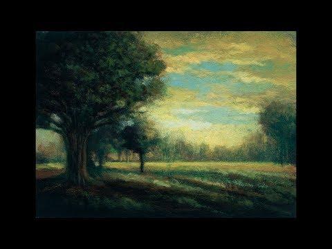 Afternoon Reverie 5×7  Tonalist Landscape Oil Painting Demonstration