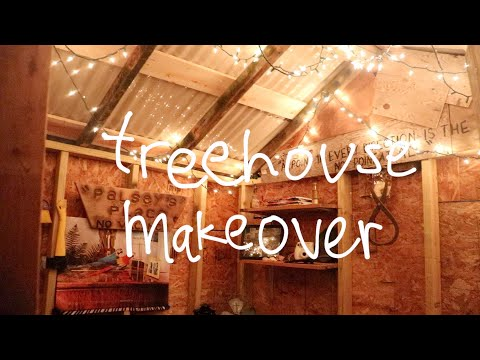 ULTIMATE TREEHOUSE MAKEOVER!
