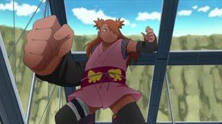 Ino-Shika-Cho Trio VS Mitsuki,Boruto & Metal Lee ~ Boruto Naruto Next Generation
