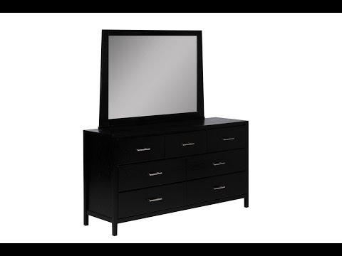 Black Dresser With Mirror Ideas