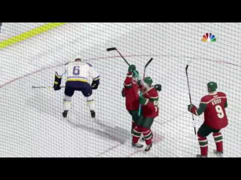 St Louis Blues vs Minnesota Wild - Game 1 - Round 1 - NHL 17 STANLEY CUP PLAYOFF SIM - X-B