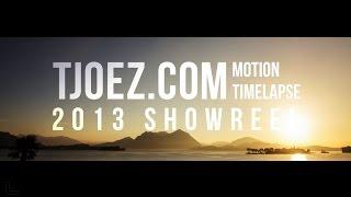 tjoez com motion timelapse 2013 showreel by matthew vandeputte