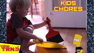 Kids Doing Chores   Funniest Kids Compilation Viral TRND