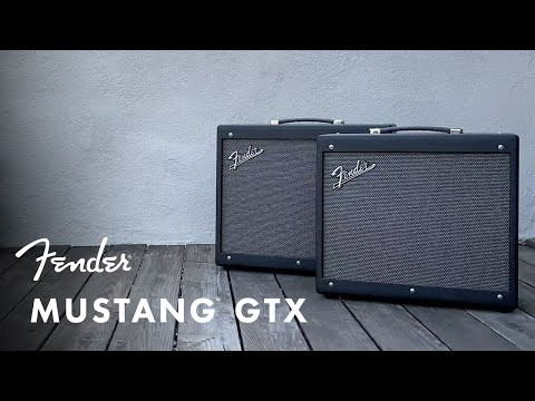 Introducing the Mustang GTX Series   Fender Amplifiers   Fender