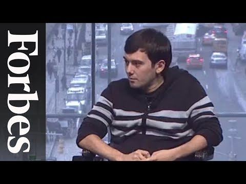 "Martin Shkreli: Prosecution ""Comes With The Territory"" 