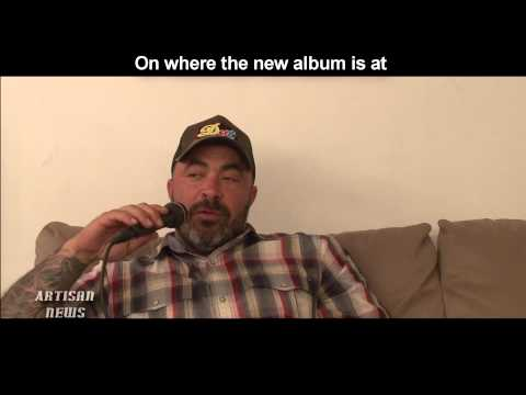 EXCLUSIVE AARON LEWIS INTERVIEW [COMPLETE] - TALKS COUNTRY CAREER, STAIND, TV SHOW, RESPECT