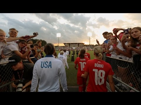 U.S. WNT Beat Switzerland in front of Sold Out Crowd in Cary