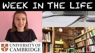 WEEK IN THE LIFE OF A CAMBRIDGE STUDENT - see my timetable!