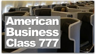 American Airlines Business Class | Review Of The New Flat Bed American Airlines Business Class