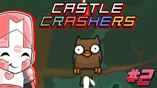 SHIT HIMSELF TO DEATH | Castle crashers remastered #2