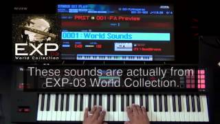 How to install Sound Libraries  into Roland FA-06/08 from Axial website