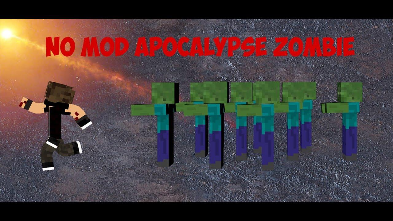 [Minecraft] No Mod Zombie Apocalypse (Only One Command)