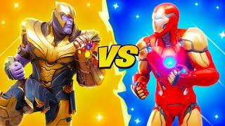 THANOS vs IRON MAN!
