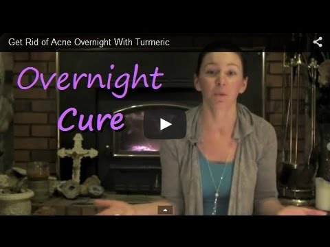 Get Rid of Acne Overnight With Turmeric