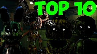 Five Nights At Freddy s 3 Топ 10 Теория о Фантомах 5 Ночей у Фредди